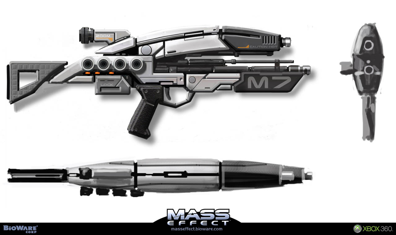 masseffected / Weapons, Armor and Equipment